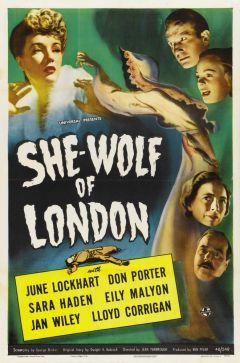 Женщина-волк из Лондона