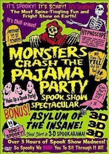 Монстры разносят пижамную вечеринку