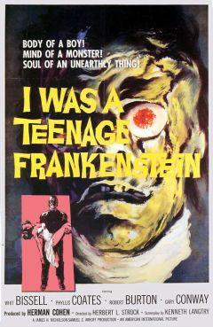 Я был молодым Франкенштейном