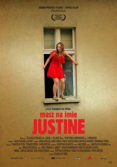 Тебя зовут Юстина